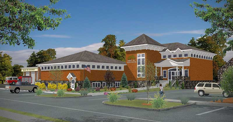 Town Hall Rendering Town of Shawangunk